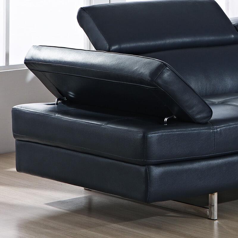 Adjustable sofa arm