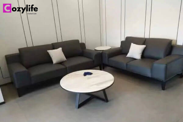 dark grey couch sofa set