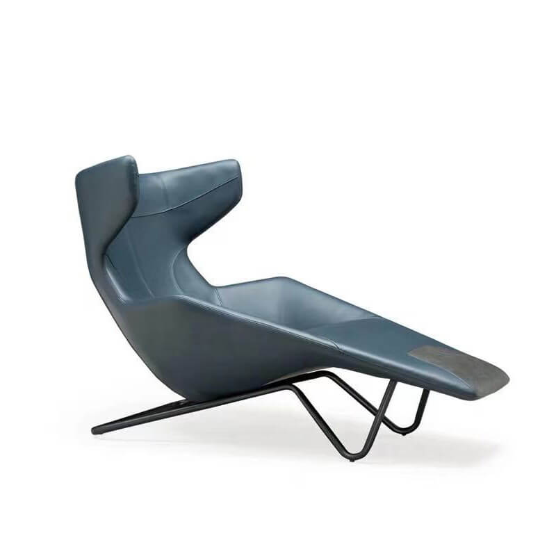 long chaise reading lounge chair for bedroom