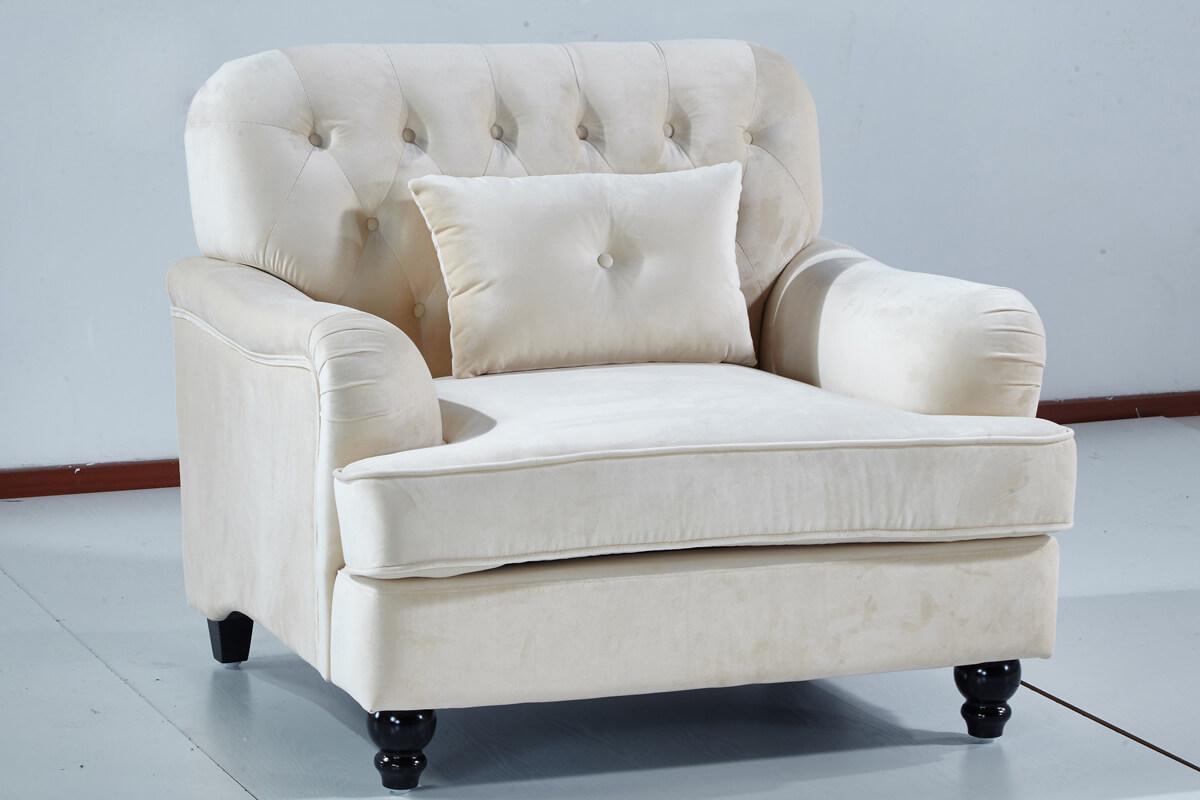 burrow accent sofa chair