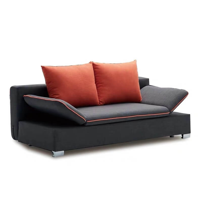 grey hideaway bed couch