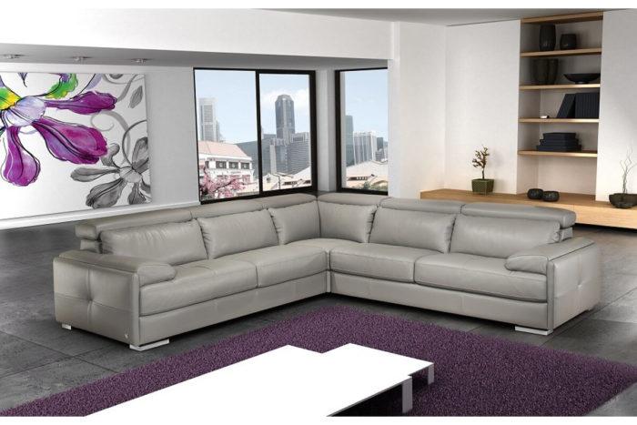 grey modular corner sofa