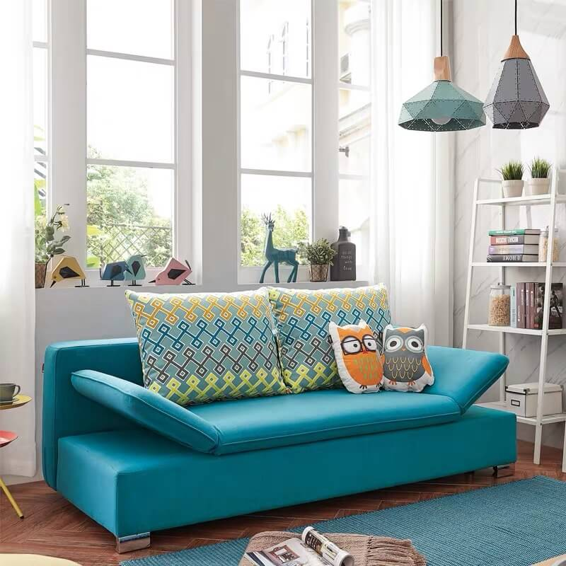 small futon couch