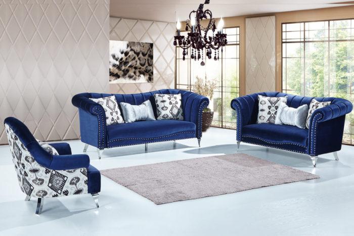 modern camel back velvet sofa