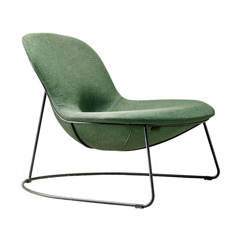 designer modern chair in green color
