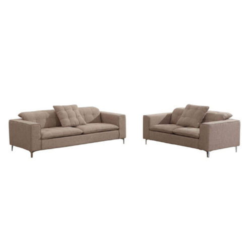 fabric sofa and loveseat set