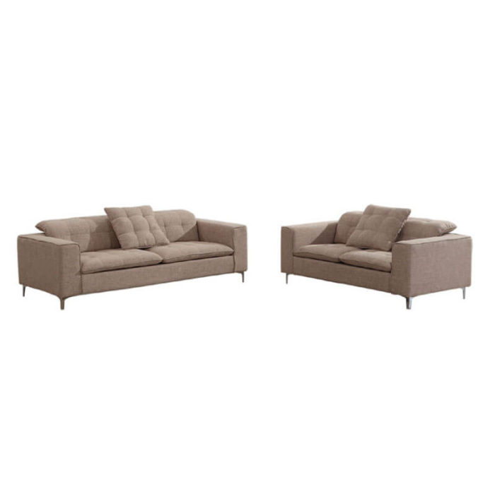 fabric sofa and loveseat set