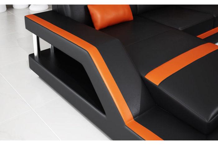 elegant line of sofa arm