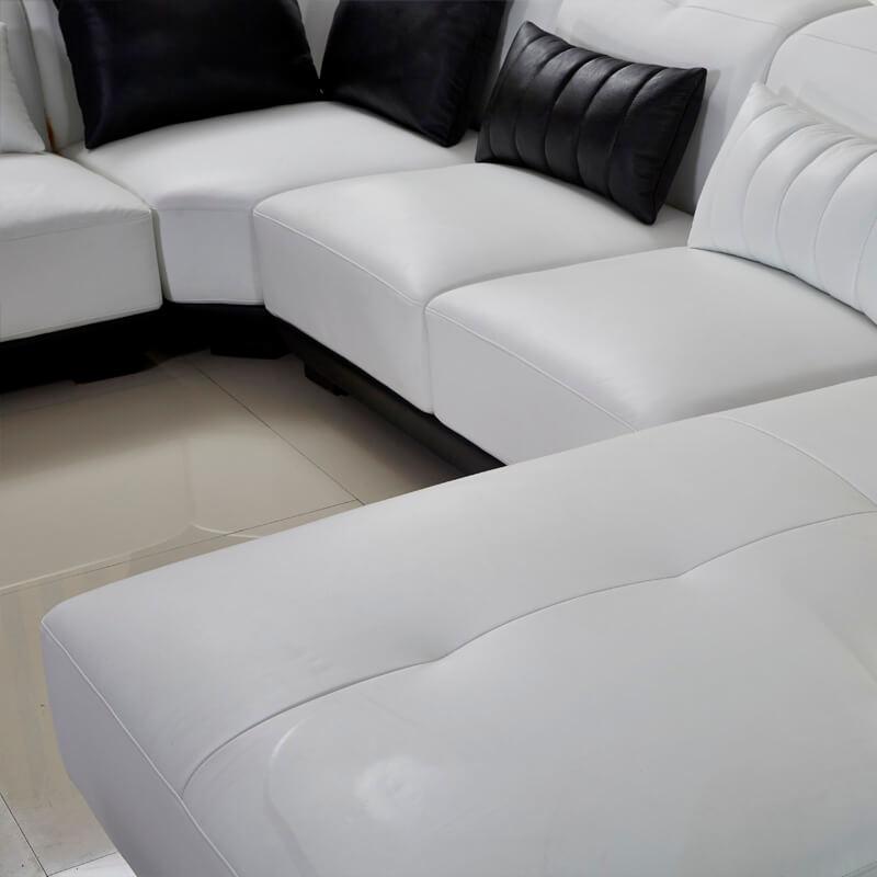 good stiching of sofa