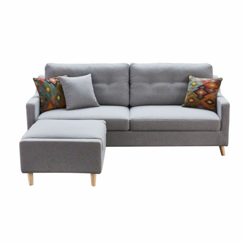 grey sofa bed with storage