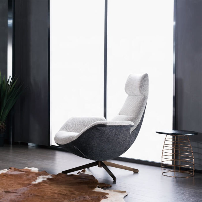 modern office fabric armchair