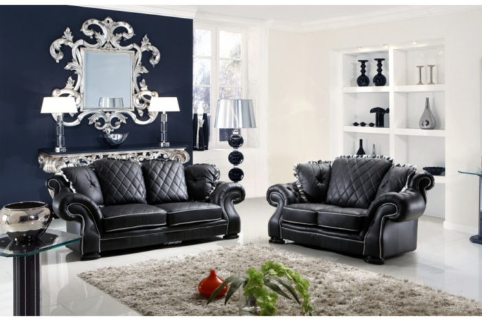 chesterfield sofa loveseat set