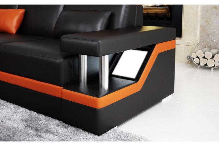 sofa with led lights
