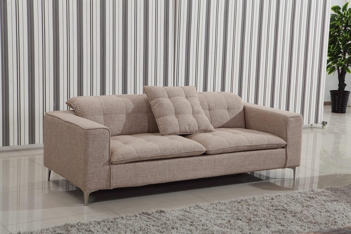 contemporary fabric custom sofa