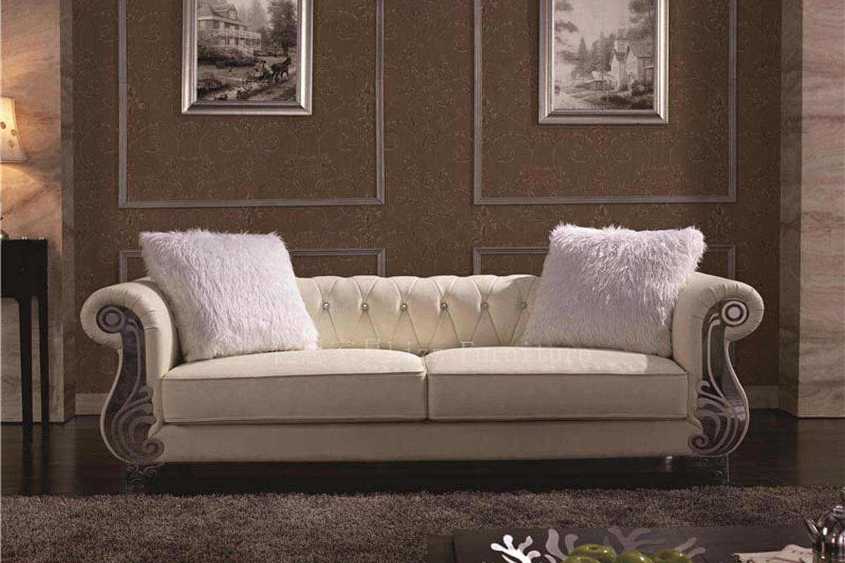 luxury chesterfield loveseat sofa