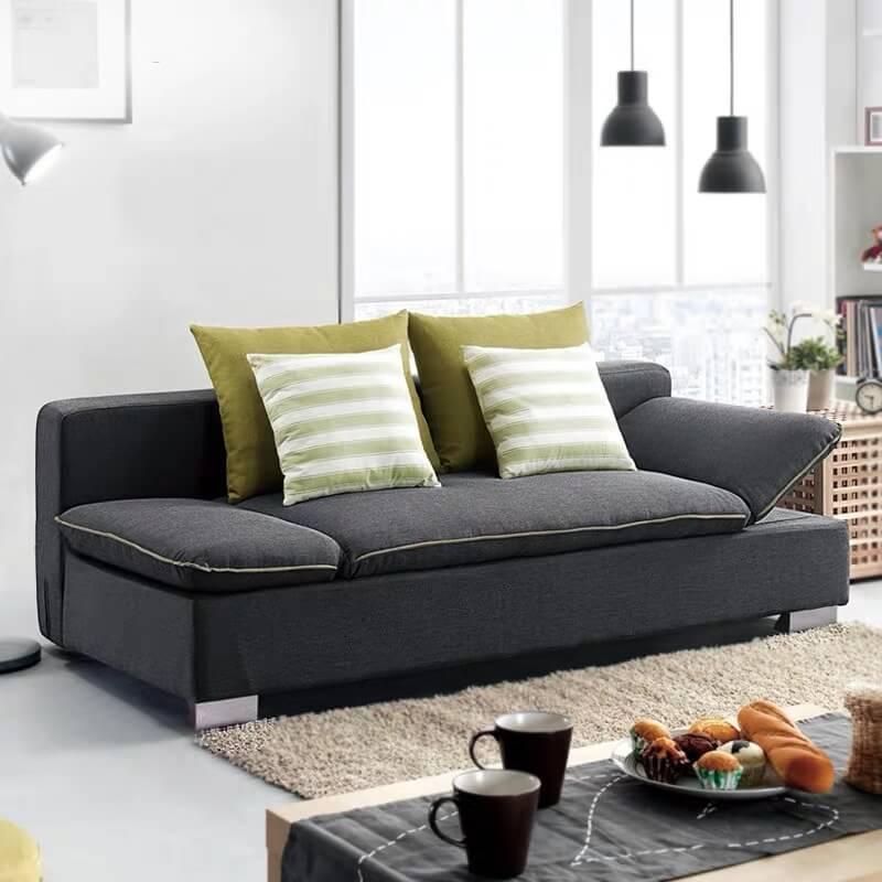 grey bunk bed sleeper sofa