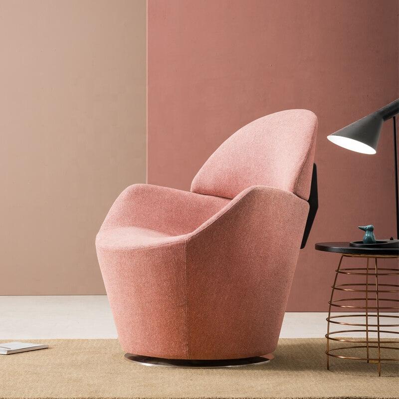 large modern swivel chair