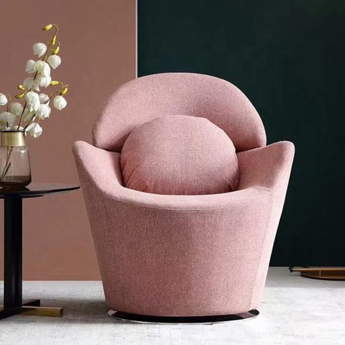 modern swivel sofa chair