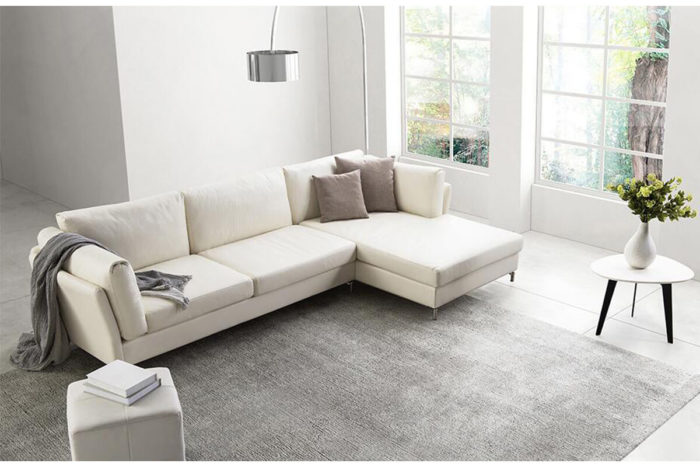 modern small corner couch