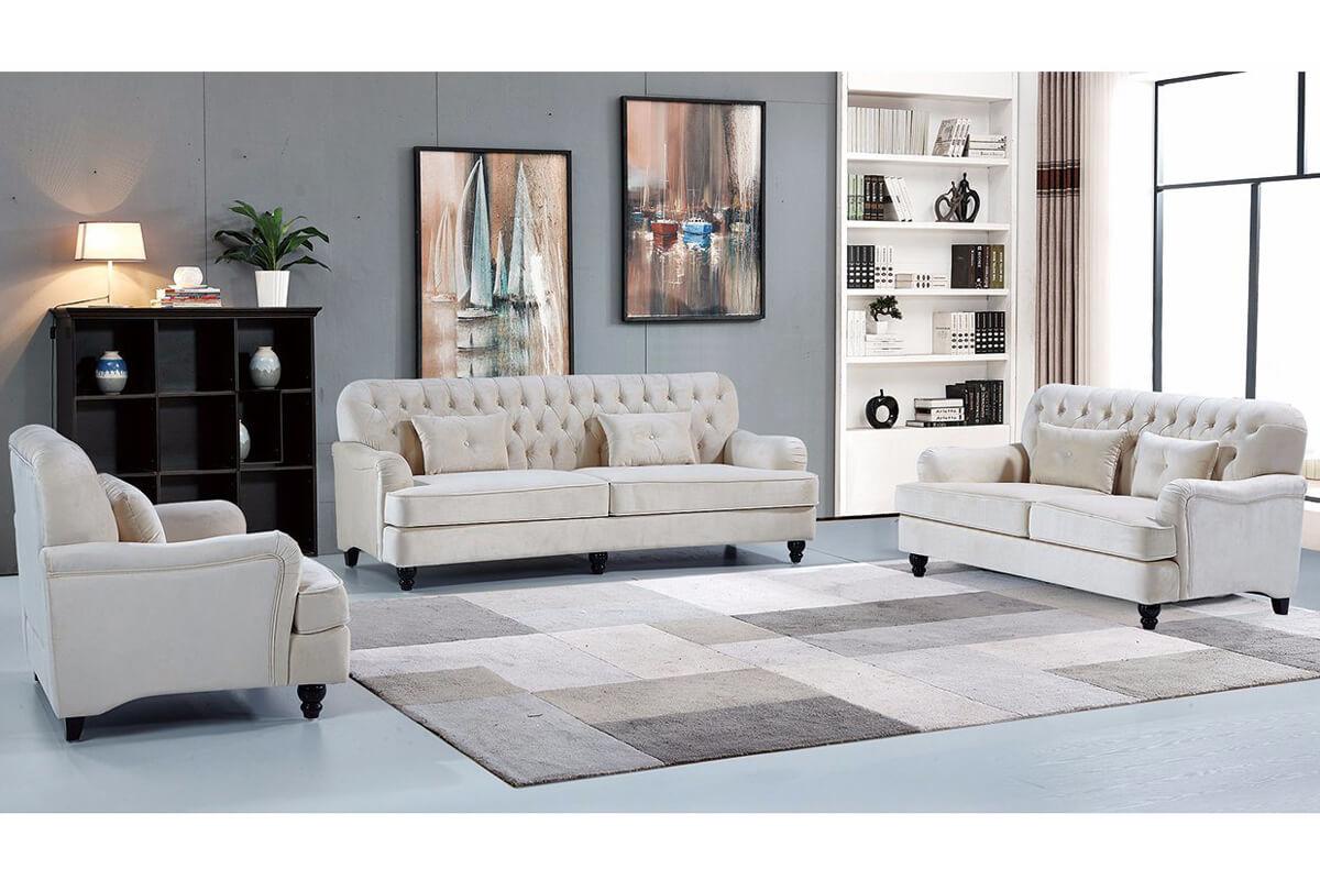 american traditional style farmhouse sofa