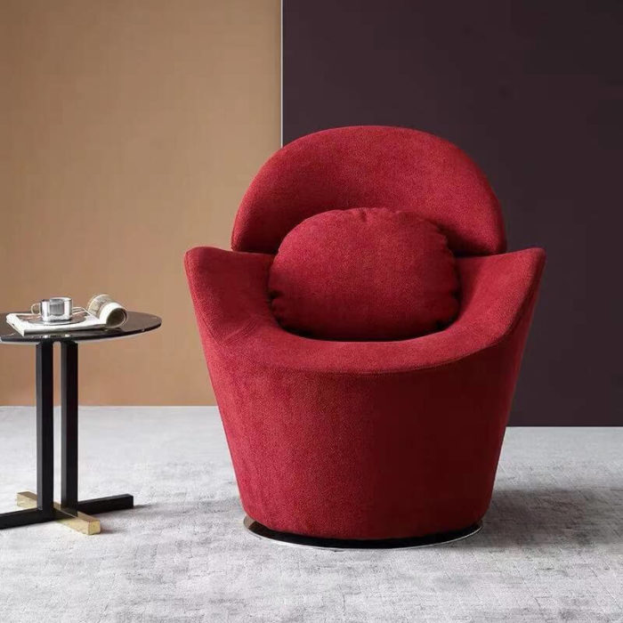 red swivel sofa chairs for living room