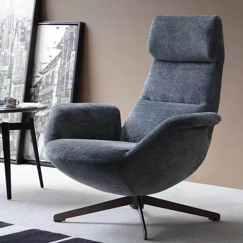 grey rotate chair
