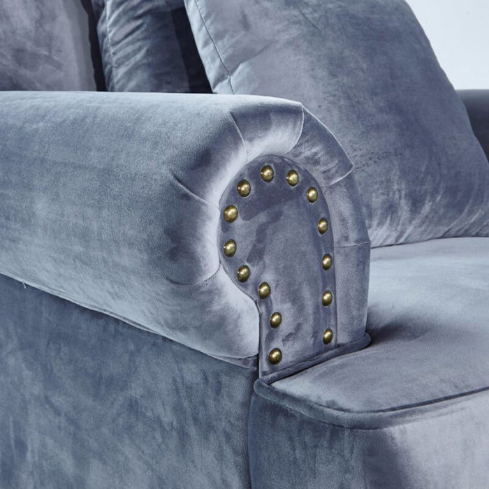 sofa rolled arm design
