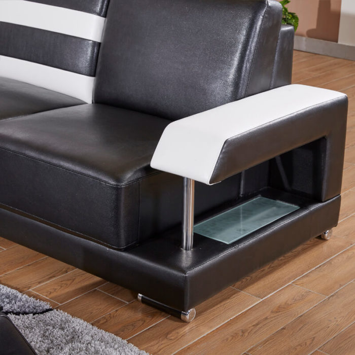 sofa arm with led light design