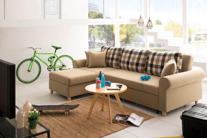 modular sofa bed with ottoman