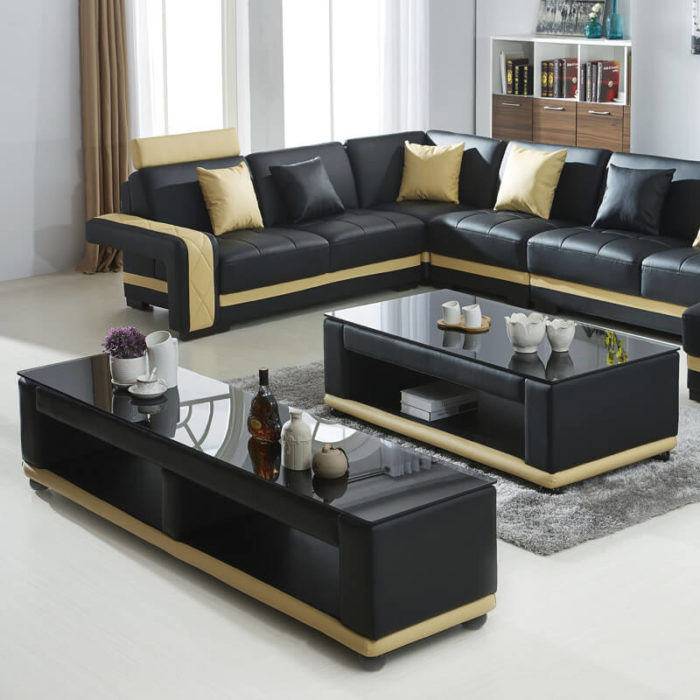sectional sofa coffee table & tv stand set