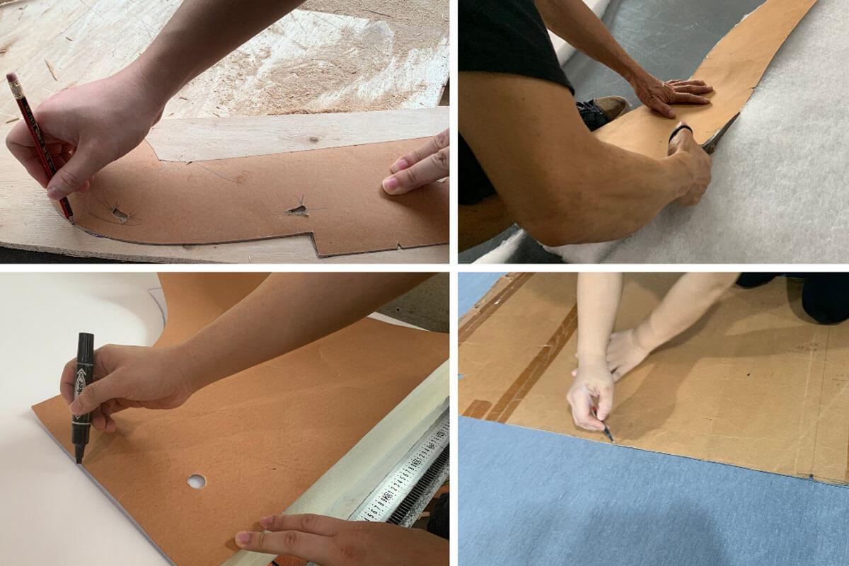 sofa mold making process