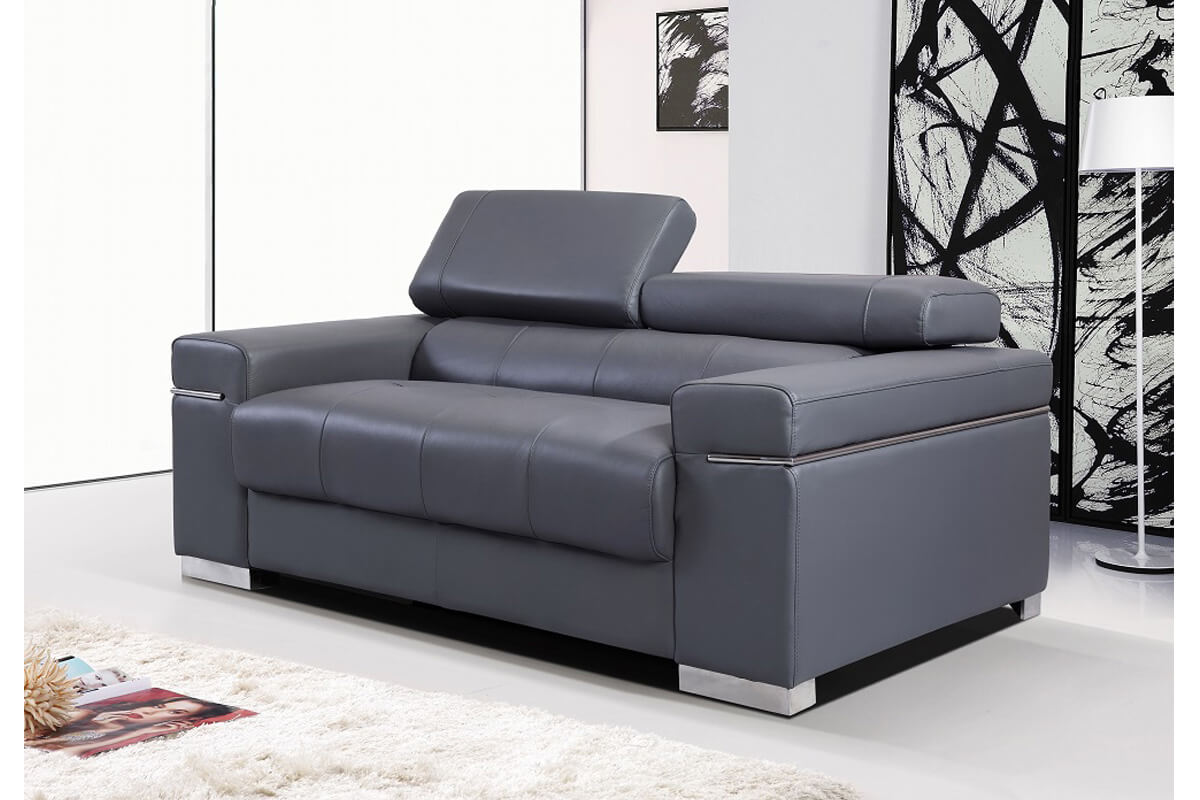 black leather sofa settee couch