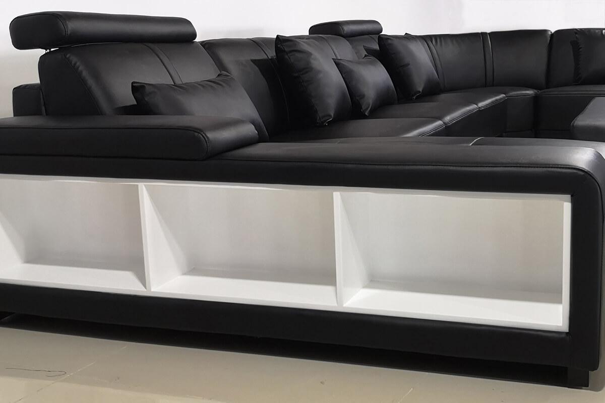 storage of sofa arm design