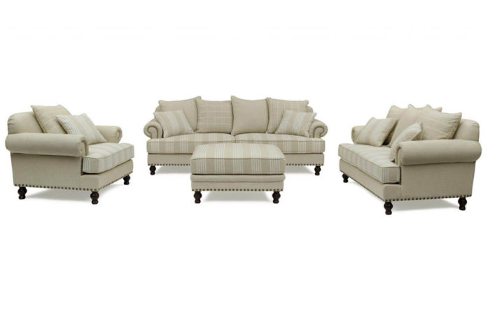 burrow fabric sofa set