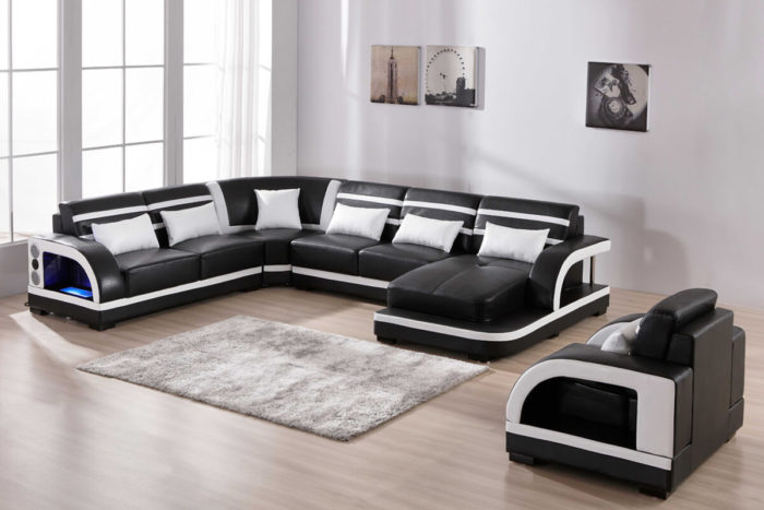 upholstered sectional sofa with chaise