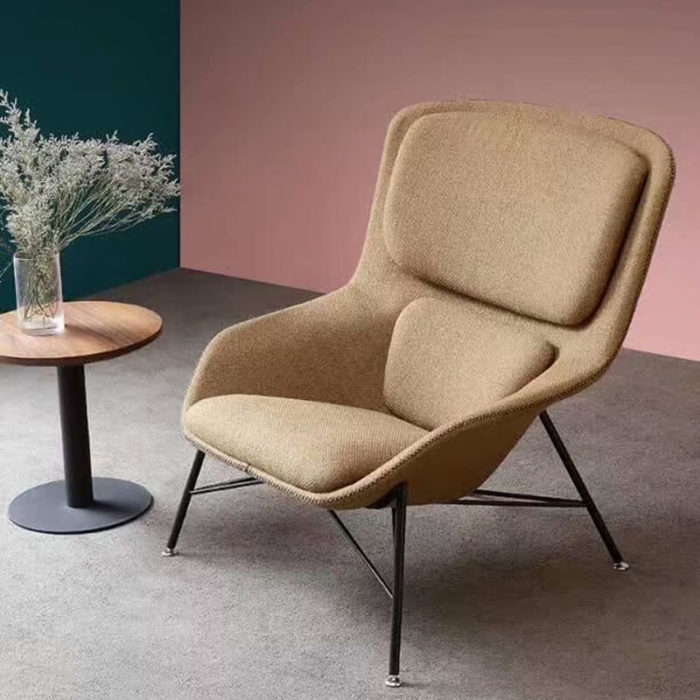 yellow modern armchair for sale