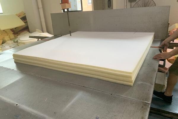 sofa foam cutting workshop