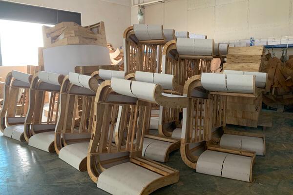 sofa wood frame wokshop