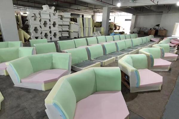 sofa massive production