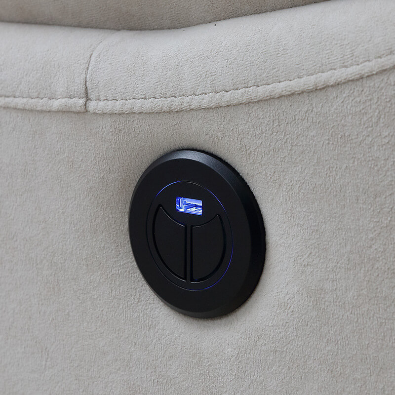 electric recliner chair button