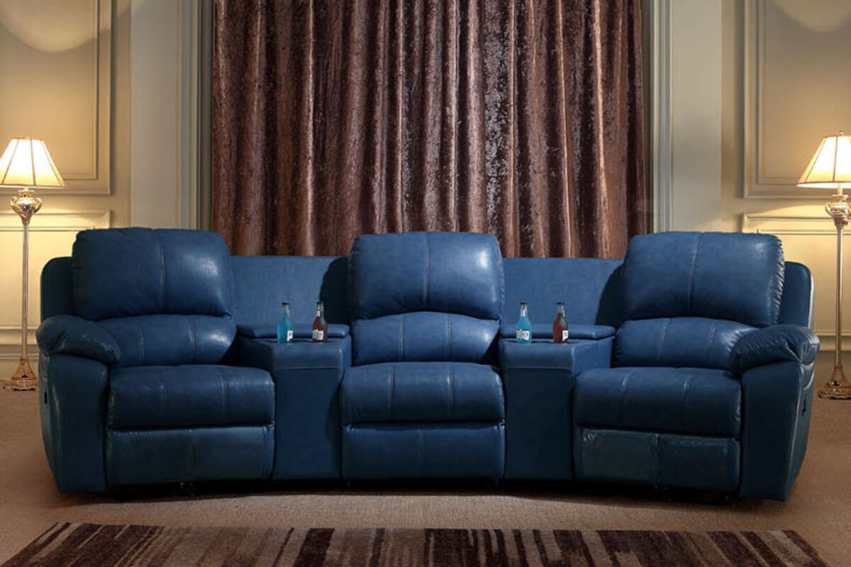 home cinema reclining seating