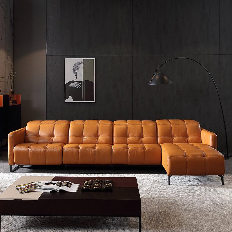 electric comfortable corner recliner sofa