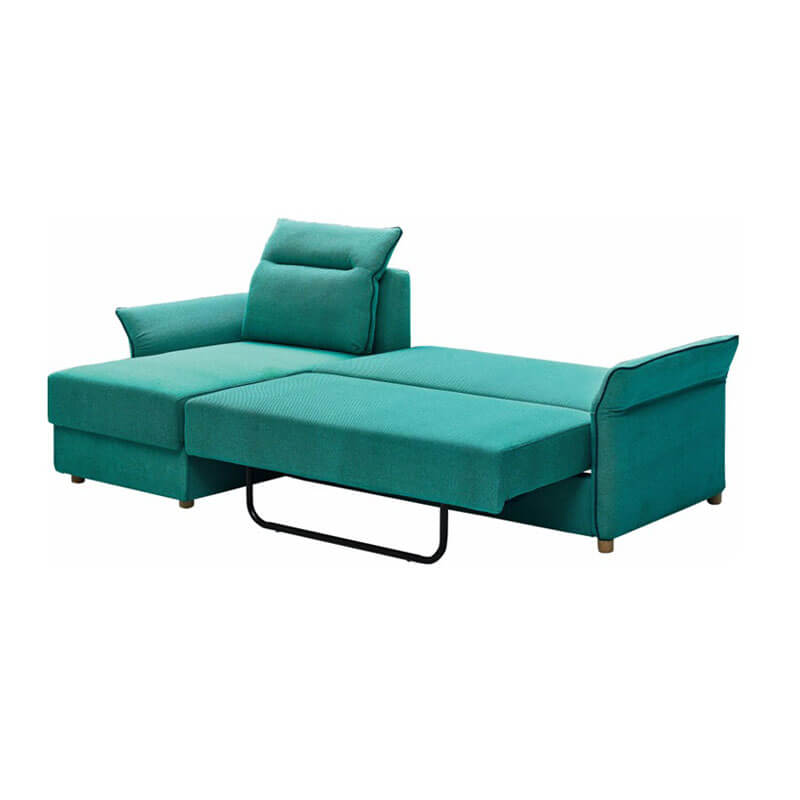 convertible blue sofa bed