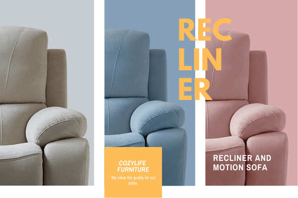 cozylife recliner sofa catalogue