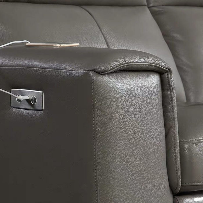 electric recliner sofa arm