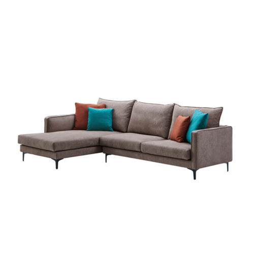 Small grey corner sofa