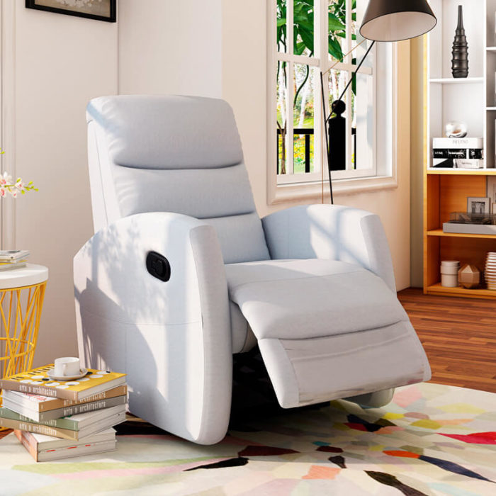fabric manual lift recliners