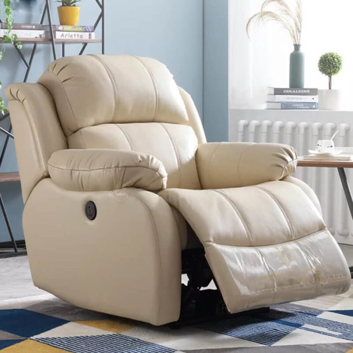 leather recliner seats
