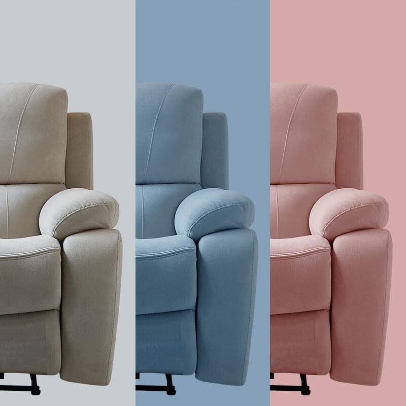 fabric swivel rocker recliner