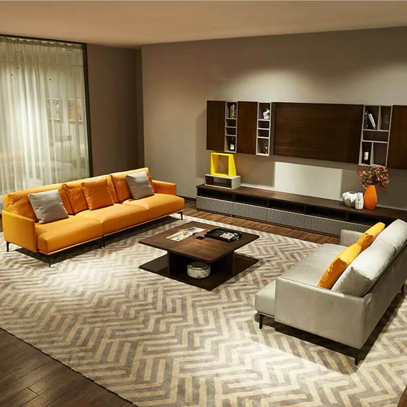 modern couch and loveseat set